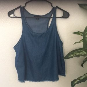 6/25 Denim tank top